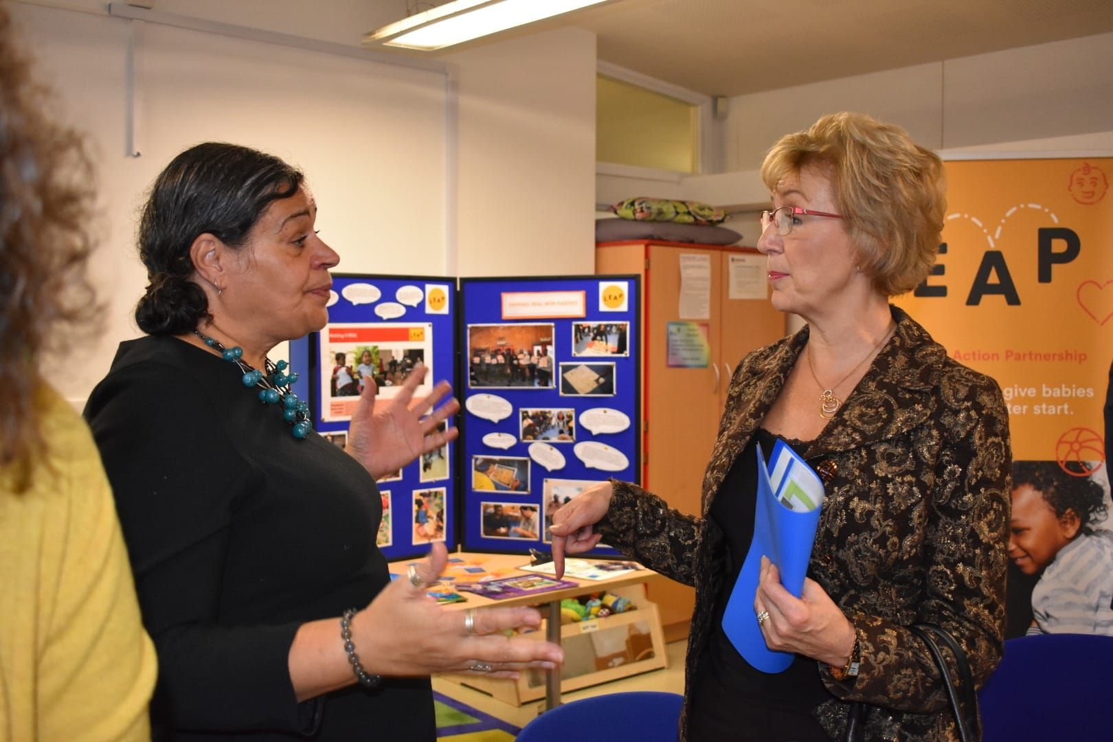 Andrea Leadsom visits LEAP