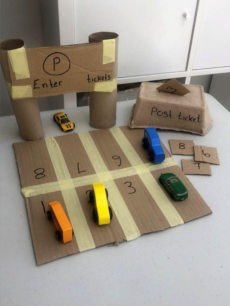 Let's pretend car park