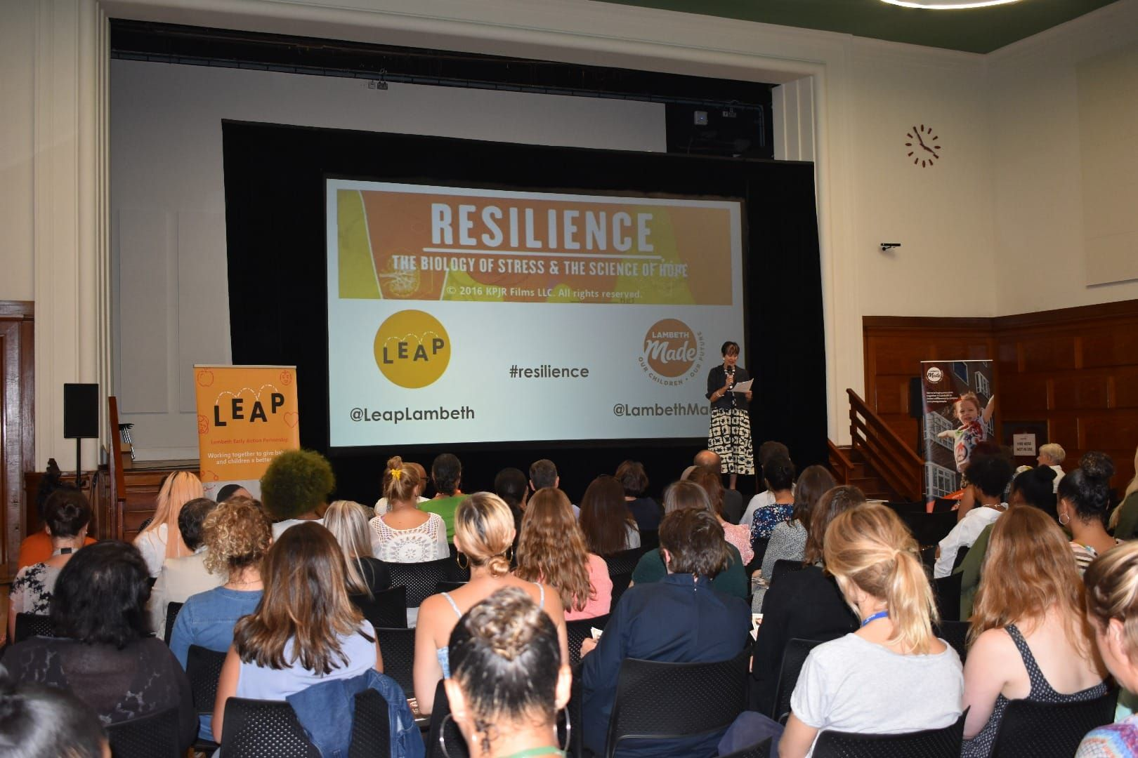 LEAP hold film screening for over 200 practitioners