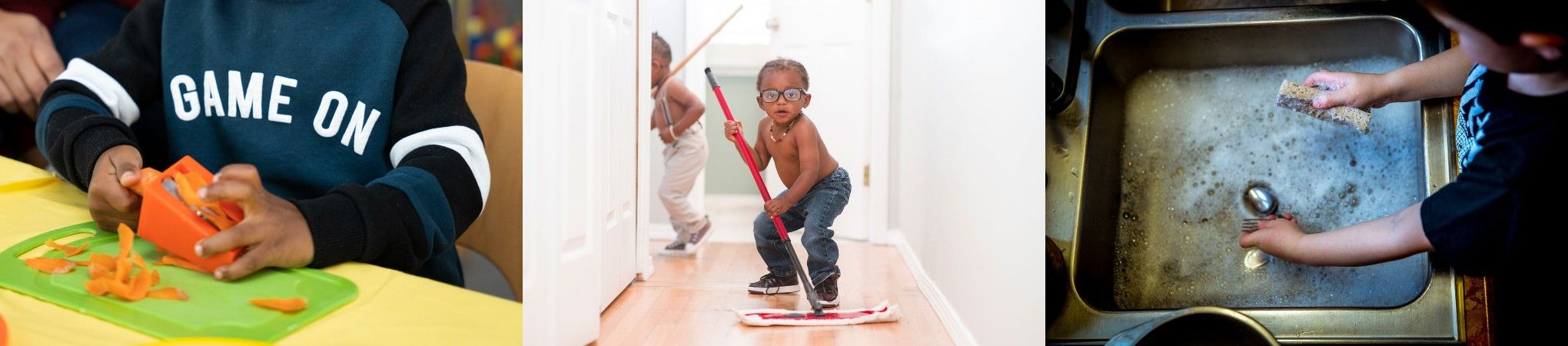 Fun cleaning games for kids