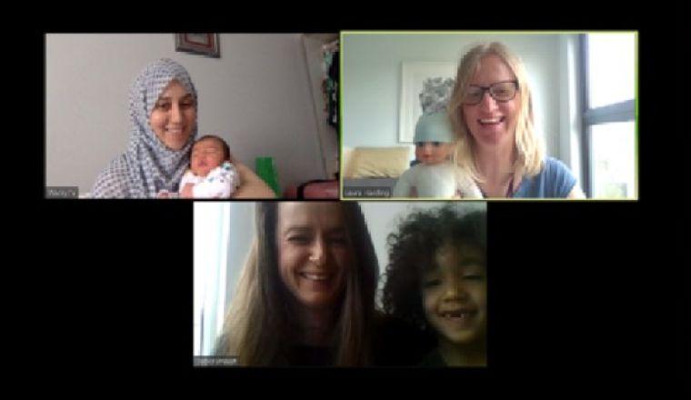 Covid breastfeeding support