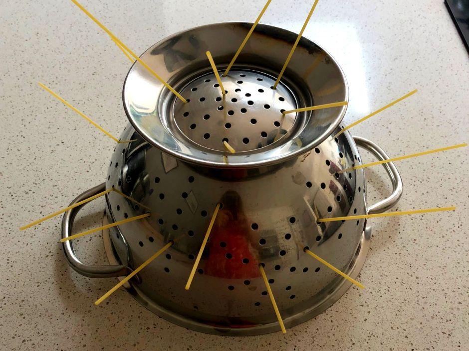 Threading spaghetti