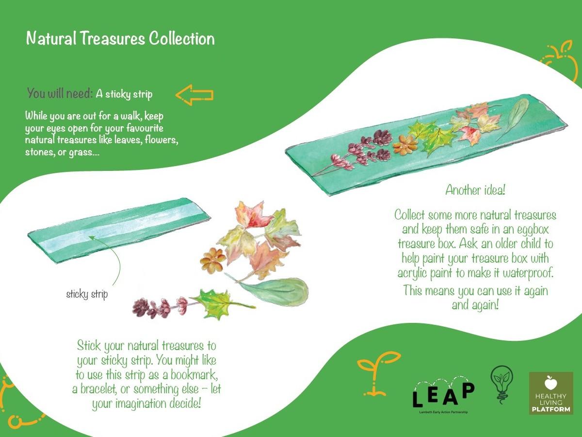 Nature treasures activity